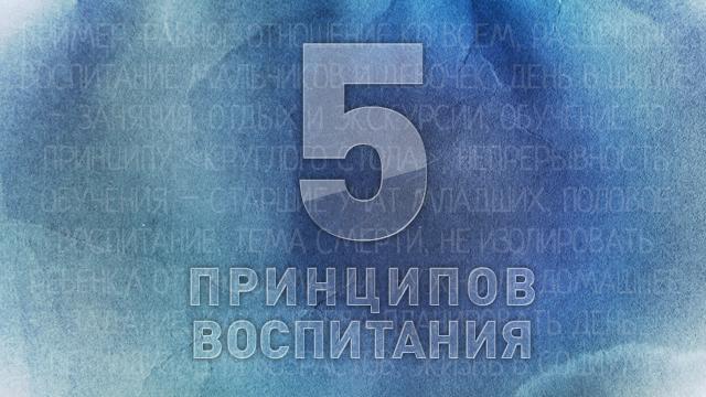 Пять принципов воспитания человека